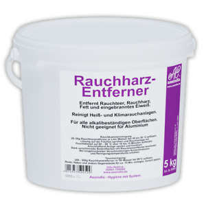 Rauchharzentferner Rauchharz-Entferner Granulat 5KG Eimer Assindia