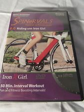 DVD Spinning Spinervals 6.0 Bike Riding with Iron Girl 50 minute Interval
