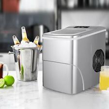 Edelstahl Eismaschine mit Kompressor Eisbereiter Softeis Maschine Frozen Joghurt