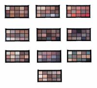 MUA 15 Shade Pro Eyeshadow Palettes 10 Shades to choose from gold red pink brown