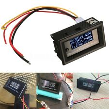 Oled LCD 33V 10A DC Combo Meter Voltage Current Power Capacity Battery Monitor