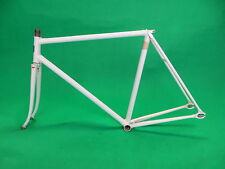 Eimei White NJS Approved Keirin Frame Track Bike Fixed Gear