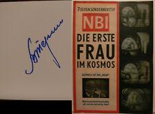 Walentina Tereschkowa signiert Valentina Tereshkova Wostok Kosmonaut Autogramm