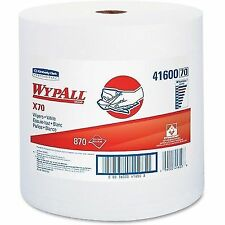WypAll X70 Wipers, Jumbo, Perf, 12 1/2x13 2/5, White - KCC41600