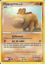 "Carte Pokemon "" HIPPOPOTAS "" Niveau 23 Diamant & Perle PV 60 51/130 UNCO  VF"