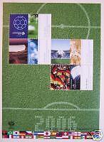 Block  67 ** ,BRD 2006, Nr. 2517-21,  Fußball-WM