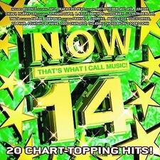 Now That's What I Call Music! 14 CD Rock/Pop/R & B/Rap Beyonce Justin Timberlake