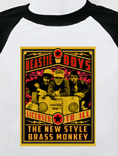 Beastie Boys new T Shirt hip hop rap custom street style rocker