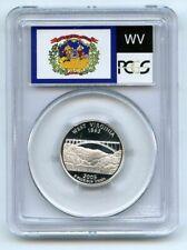 2005 S 25C Silver West Virginia Quarter PCGS PR70DCAM