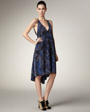MARC by Marc Jacobs Dress Indigo Multi Store Return XS/S Silk New With Defect