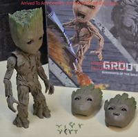 New Groot Life-Size Action Figure Hot Toys Guardians of The Galaxy Vol. 2 LMS