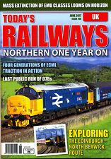 TODAY'S RAILWAYS UK 186 JUN 2017 Crossrail,Edinburgh-North Berwick,Northern,News