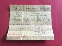 The General Electric Co 1904 Glasgow   receipt R33120