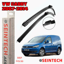 "VW CADDY 2007-2014 SPECIFIC FIT FRONT WINDSCREEN WIPER BLADES 24""18"" SEINTECH"