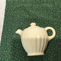 "Vintage Ceramic Decorative White Teapot table top or Wall Pocket 6"" inches high"