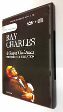 Ray Charles -  A Gospel Christmas The Voices Of Jubilation DVD + CD ed. Speciale