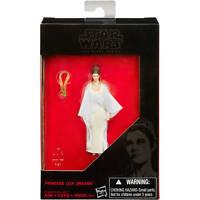 "Star Wars Force Awakens Black Series 3.75"" Princess Leia Organa Carrie Fisher"