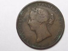 1856 Nova Scotia Canada One Penny Token.  #41