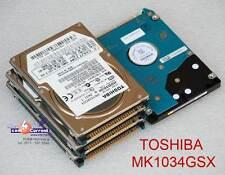 "40 GB 2,5 "" 6,35cm IDE PATA HDD Hard Drive Toshiba MK1034GSX HDD2D30 Defective"
