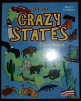 Crazy States Card Game By Jr. Rangerland Fun Like Crazy Eights By Playing States