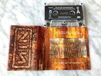 Nine Inch Nails The Downward Spiral CASSETTE Tape 1994 TVT RARE! Trent Reznor!