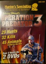 Operation Predator 3 Dvd Hunter's Specialties Over 2hrs Hunting Video