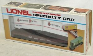 Vintage Lionel 6-9333 Southern Pacific Piggyback with Trailers Car O Scale
