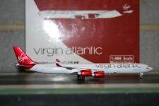 Phoenix 1:400 Virgin Atlantic Airbus A340-600 G-VGAS (PH4VIR1260) Die-Cast Model