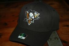 Pittsburgh Penguins hat YOUTH small medium fitted New with tags NHL black Adidas