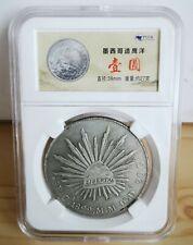 PCCB 1892 Year Republica Mexicana Silver Coin 8R.C.1892.M.M.10D.20G Mexico Coin