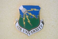 US USA USAF Air Force Air University Military Hat Lapel Pin