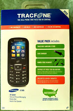 TracFone Samsung S150G Black Cellphone, prepay, unlimited double minutes