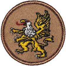 Cool Boy Scout Patches- Golden Griffin Patrol! (#332)