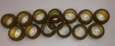 "Set of 14 1 1/2"" Gold Beaded Napkin Rings Dinner Tableware Decor Gift Us Seller"
