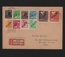 OPC 1948 Berlin Airlift with Overprint issues Registered
