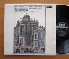 SXL 6252 Mozart Beethoven Quintet Ashkenazy London Wind Soloists NEAR MINT Decca