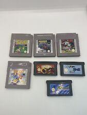 Nintendo Gameboy/ Advance Spielesammlung 7 Stück