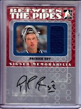 2005-06 Between the Pipes Signed Memorabilia #SM2 Patrick Roy /10