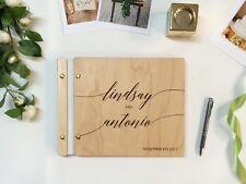 Custom Wedding Guest Book Polaroid Guest Book Wedding Calligraphy Album