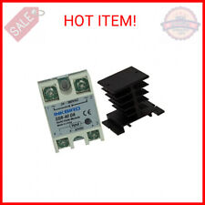 Inkbird Solid State Relay 40DA DC SSR Black Heat Sink for PID Thermostat Tem …