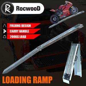 Ramp Folding Steel Loading x1 200KG 1.8 Metre Trailer Motorbike Motorcycle