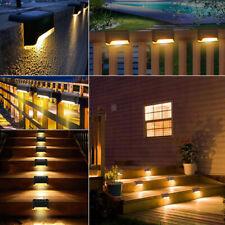In/Outdoor Solar LED Garden Stair Light Yard Lawn Stair Lighting Waterproof Lamp