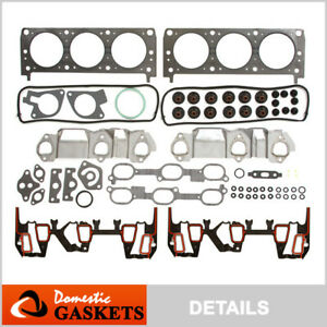 Fits 96-05 Buick Chevrolet Oldsmobile Pontiac 3.1L 3.4L New Head Gasket Set