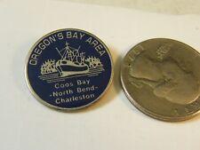 New listing Oregon'S Bay Area Coos Bay North Bend Charleston Travel Pin