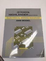 2009 Toyota Highlander Hybrid Electrical Wiring Diagram Ebay