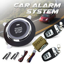 Car Alarm System PKE Keyless Entry Push Button Engine Ignition Starter