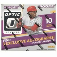2020 DONRUSS OPTIC CHOICE BASEBALL SEALED HOBBY BOX IN STOCK FREE SHIPPING