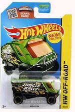 2015 Hot Wheels #104 HW Off-Road Jungle Rally Aero Pod green