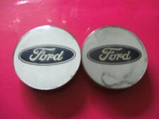 ford alloy wheel centre caps x2                H95 SX 1137 BA