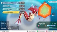 Pokemon Let's Go Shiny Gyarados Max 6IV / AV [Fast Delivery] Original Owner